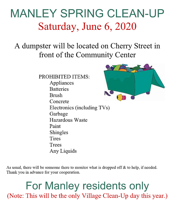 manley cleanup2020