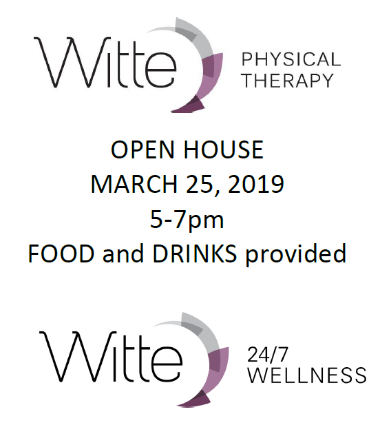 Witte open house